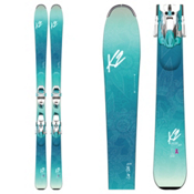 K2 Luv Sick 80Ti Womens Skis with Marker ERC 11 TCX Bindings 2017, , medium