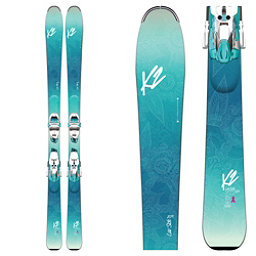 K2 Luv Sick 80Ti Womens Skis with Marker ERC 11 TCX Bindings 2017, , 256