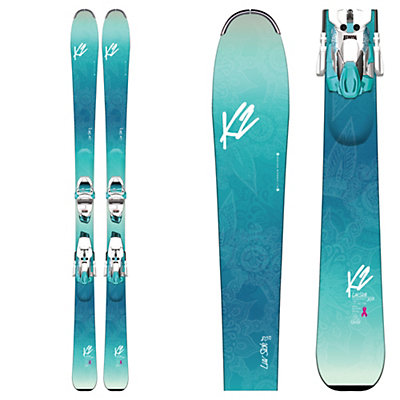 K2 Luv Sick 80Ti Womens Skis with Marker ERC 11 TCX Bindings 2017, , viewer