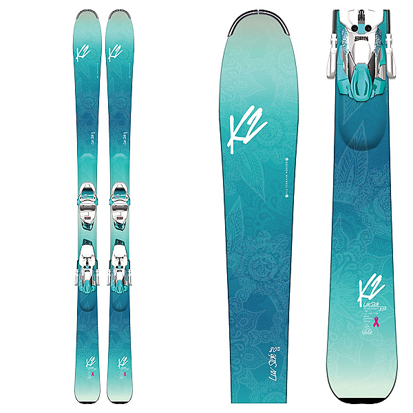 K2 Luv Sick 80Ti Womens Skis with Marker ERC 11 TCX Bindings, , 600