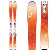 K2 Luv Struck 80 Womens Skis with Marker ER3 10 TCx Bindings 2017, , medium