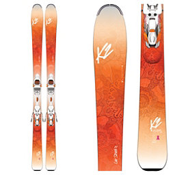 K2 Luv Struck 80 Womens Skis with Marker ER3 10 TCx Bindings 2017, , 256