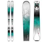 K2 BeLuved 78Ti Womens Skis with Marker ER3 10 Bindings 2017, , medium