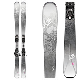 K2 LuvIt 76 Womens Skis with Marker ERP 10 Bindings 2017, , 256