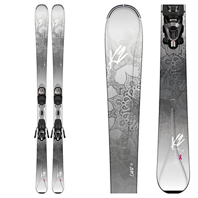 K2 LuvIt 76 Womens Skis with Marker ERP 10 Bindings 2017, , viewer