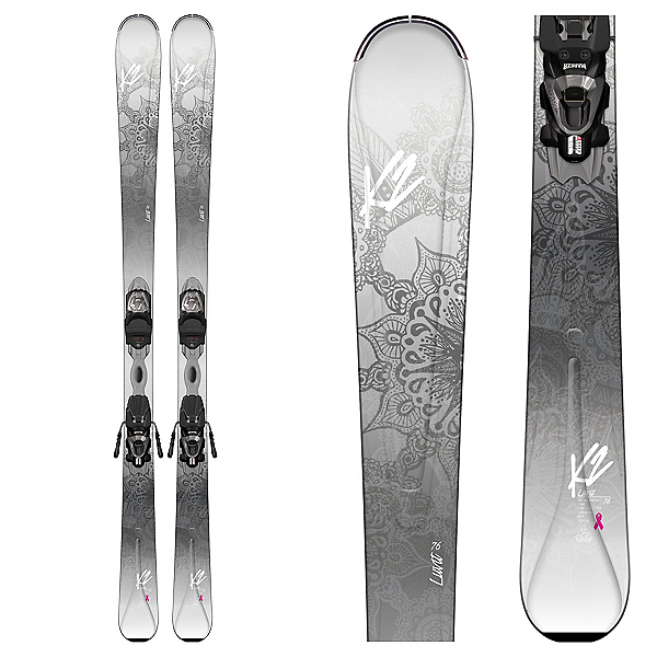 K2 LuvIt 76 Womens Skis with Marker ERP 10 Bindings 2017, , 600