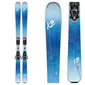 K2 Luv 75 Womens Skis with Marker ERP 10 Bindings 2017, , medium