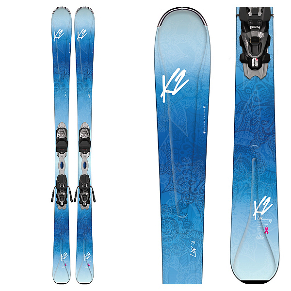 K2 Luv 75 Womens Skis with Marker ERP 10 Bindings 2017, , 600