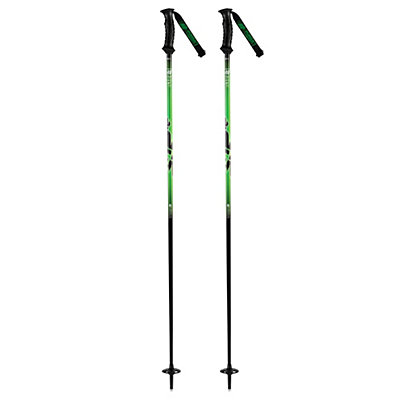 K2 Power 7 Ski Poles 2017, Black, viewer