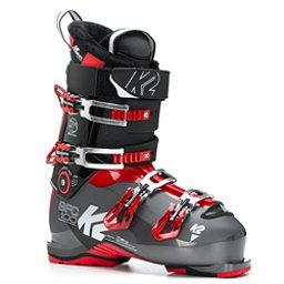 K2 B.F.C. 100 Ski Boots 2017, Black-Red, 256