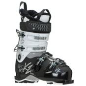 K2 B.F.C. 80W Womens Ski Boots 2017, White, medium