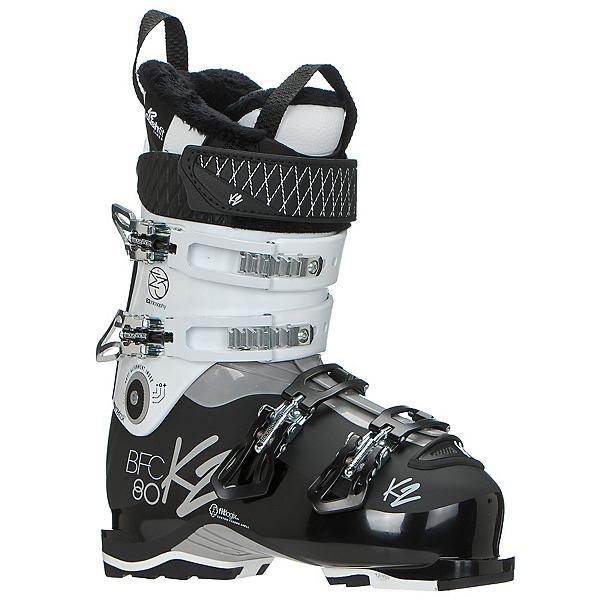 K2 B.F.C. 80W Womens Ski Boots 2018, White, 600