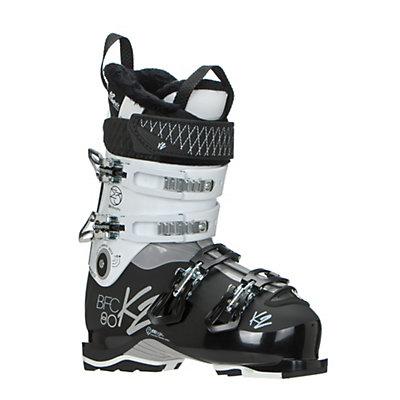 K2 B.F.C. 80W Womens Ski Boots 2017, White, viewer