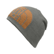 The North Face Highline Beanie, Fusebox Grey-Citrine Yellow, medium