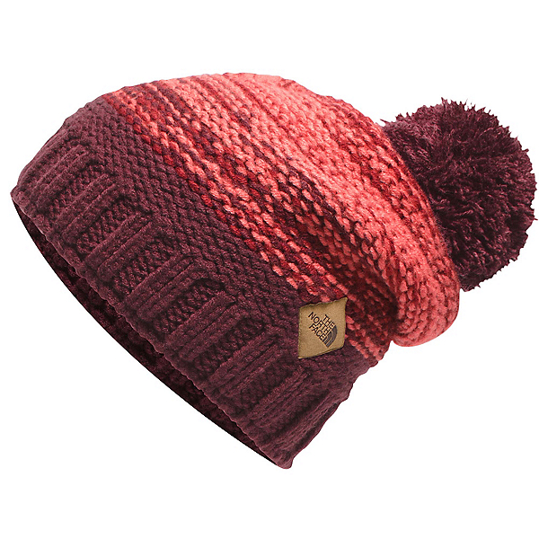 The North Face Antlers Beanie, Deep Garnet Red, 600
