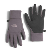 The North Face Etip Womens Gloves, Rabbit Grey, medium