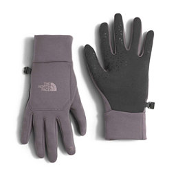The North Face Etip Womens Gloves, Rabbit Grey, 256