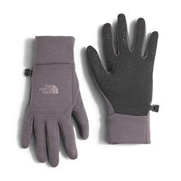 The North Face Etip Womens Gloves (Previous Season), Rabbit Grey, 256