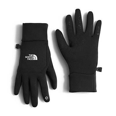 The North Face Etip Womens Gloves, Deep Garnet Red, viewer