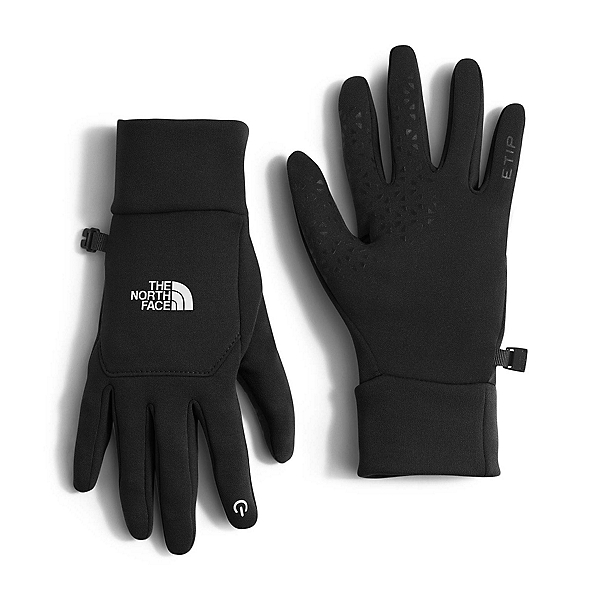 The North Face Etip Womens Gloves, TNF Black, 600