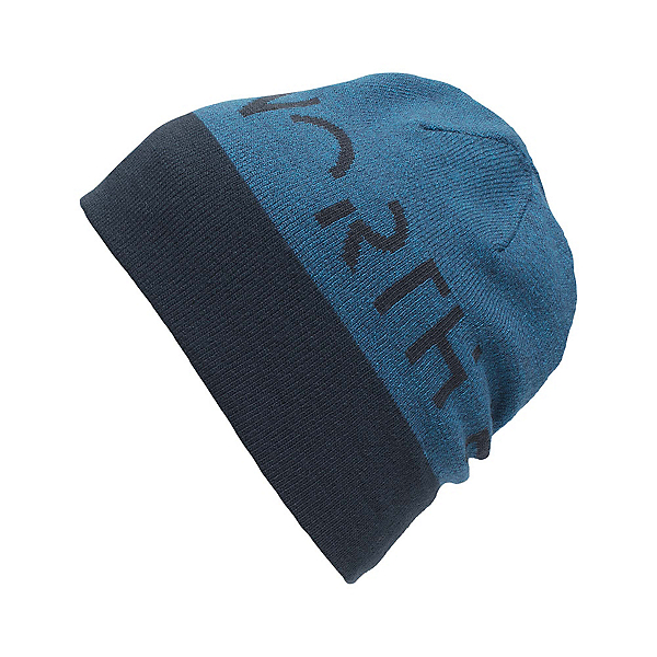 The North Face Reversible TNF Banner Beanie (Previous Season), Urban Navy, 600