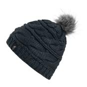 The North Face Triple Cable Fur Pom Beanie, Asphalt Grey, medium