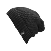 The North Face Womens Purrl Stitch Beanie, TNF Black, medium
