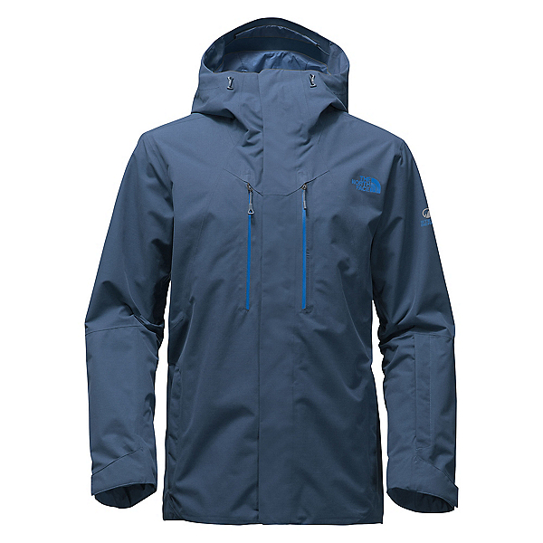 The North Face NFZ Mens Shell Ski Jacket, Shady Blue, 600