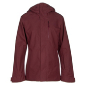 The North Face NFZ Womens Insulated Ski Jacket, Deep Garnet Red, medium