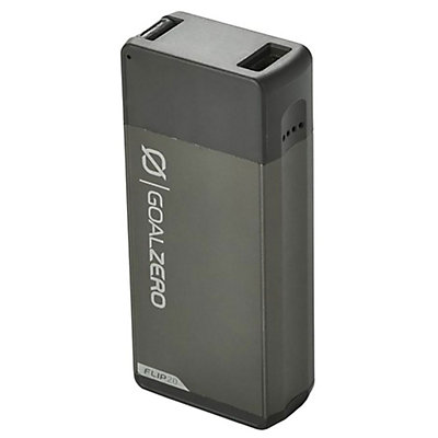 Goal Zero Flip 20 Recharger, Charcoal Grey, viewer