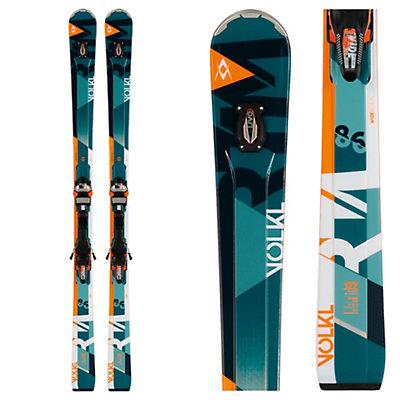 Volkl RTM 86 UVO Skis with IPT WideRide 12.0 Bindings 2017, , viewer