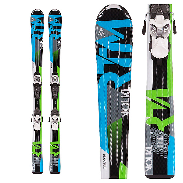 Volkl RTM Jr. Kids Skis with 3Motion 7.0 Bindings 2017, , 600