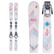 Volkl Chica Jr. Kids Skis with 3Motion 4.5 Bindings 2017, , medium