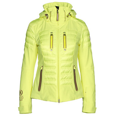 Bogner Nica DT Womens Insulated Ski Jacket, Glowing Green, viewer