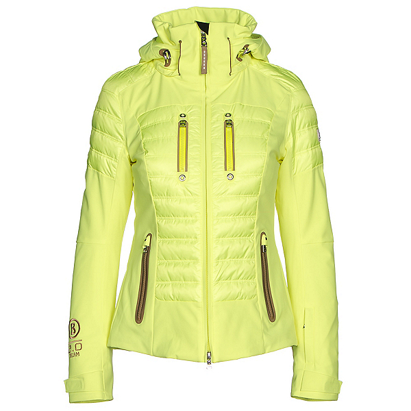 Bogner Nica Down Womens Insulated Ski Jacket, Glowing Green, 600