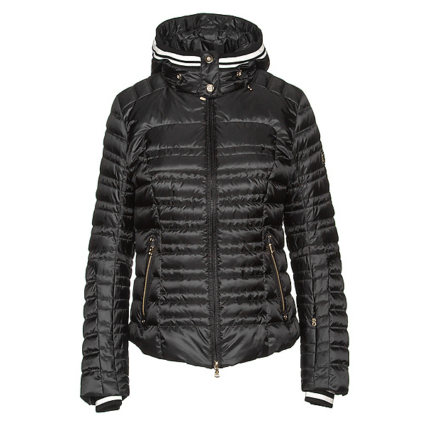 Bogner Eni Down Womens Insulated Ski Jacket, Black, 600