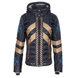 Bogner Elia Down Womens Insulated Ski Jacket, Navy, 256