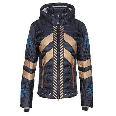 Bogner Elia D Womens Insulated Ski Jacket, Navy, viewer