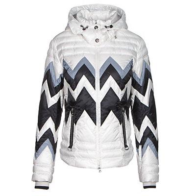 Bogner Nara D Womens Insulated Ski Jacket, Off White, viewer