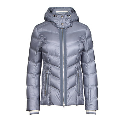 Bogner Cosma Down Womens Insulated Ski Jacket, Platinum, viewer