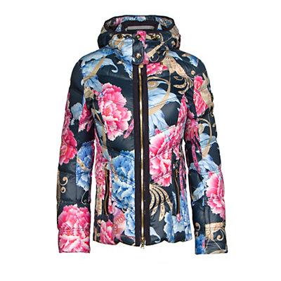 Bogner Cosma Down Womens Insulated Ski Jacket, Platinum, viewer
