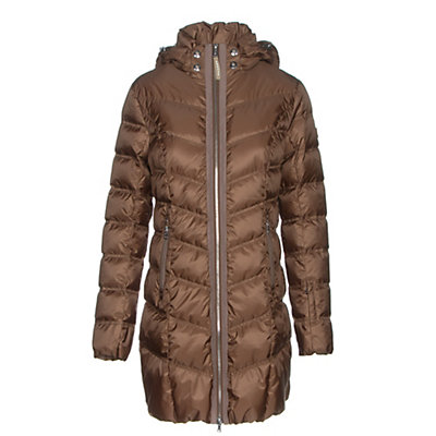 Bogner Clara Down Womens Jacket, Amber, viewer