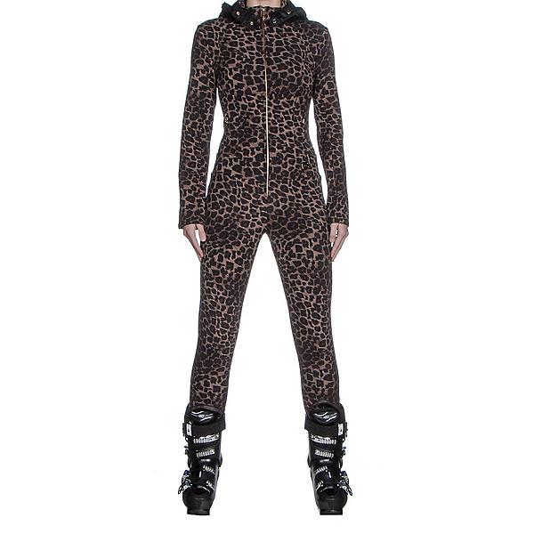 Bogner Mila Womens One Piece Ski Suit, Leopard, 600