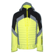 Bogner Nair Mens Insulated Ski Jacket, Glowing Green, medium