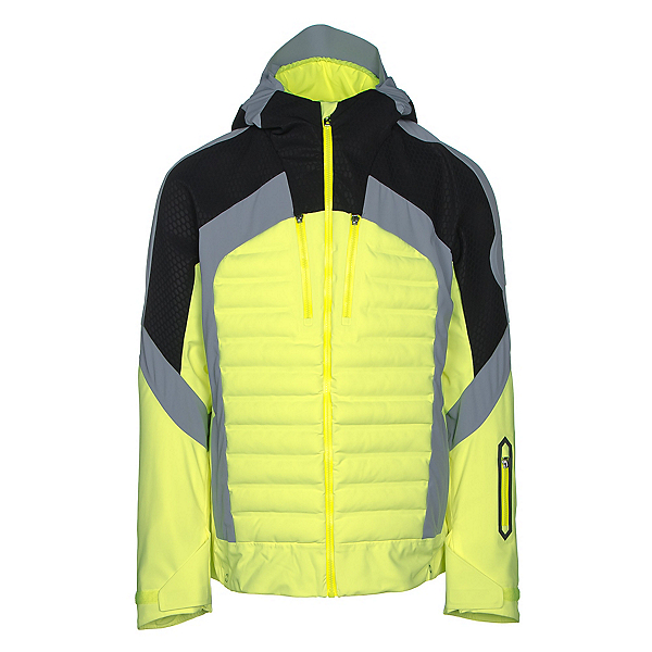 Bogner Nair Mens Insulated Ski Jacket, Glowing Green, 600