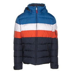 Bogner Fire + Ice Lars2 D Mens Insulated Ski Jacket, Blue-White-Red, 256