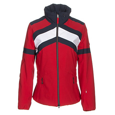 Bogner Fire + Ice Sianna Womens Insulated Ski Jacket, Signal Red, viewer