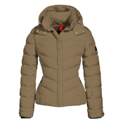 Bogner Fire + Ice Sally2 Down Womens Insulated Ski Jacket, Gold, medium