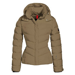 Bogner Fire + Ice Sally2 Down Womens Insulated Ski Jacket, Gold, 256