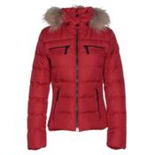 Bogner Fire + Ice Lela Down Womens Insulated Ski Jacket, Signal Red, medium